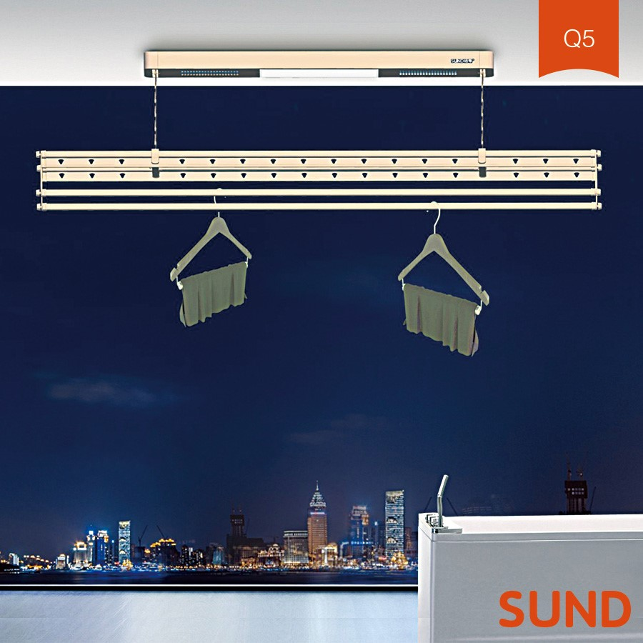 ceiling Wall mounted Door Plastic Hanging Clothes Drying Rack pulley for sale
