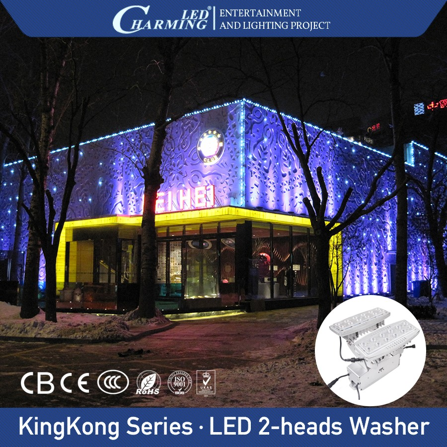 outdoor wall mounted rgbw led lights wall washer