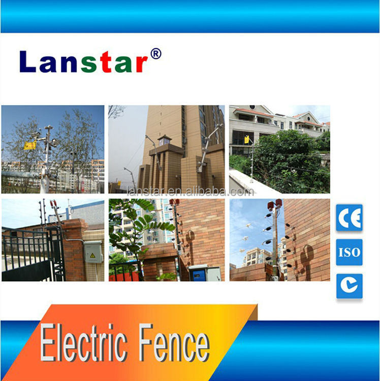 Lanstar best price electric fence accessories insulator,cable,warning sign
