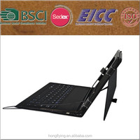 New fashion leather keyboard case for ipad , for ipad case with keyboard