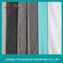 High quality nonwoven fusible interlining 100 polyester non-woven fusing