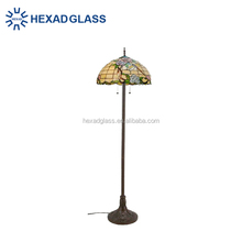 HEXAD stained glass animal lamps