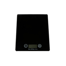 New arrival 5KG black tempered glass kitchen weigh scale electronic scale