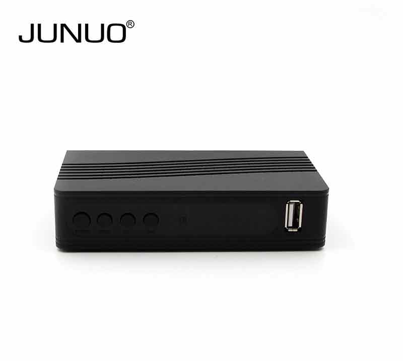 2017 JUNUO factory Set top box dvb t2 hd tv tuner