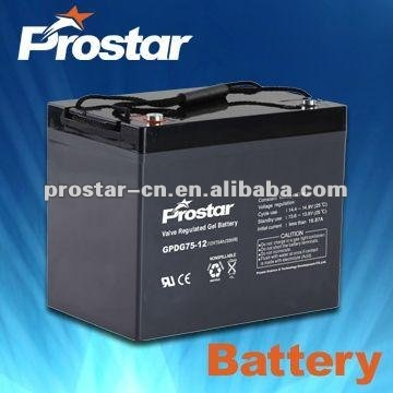 high quality 12v 100ah deep cycle battery