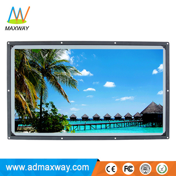 factory wholesale open frame TFT color 1080P cheap 32 inch LCD monitor with DVI VGA HDMIed input