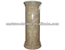 light emperador marble column