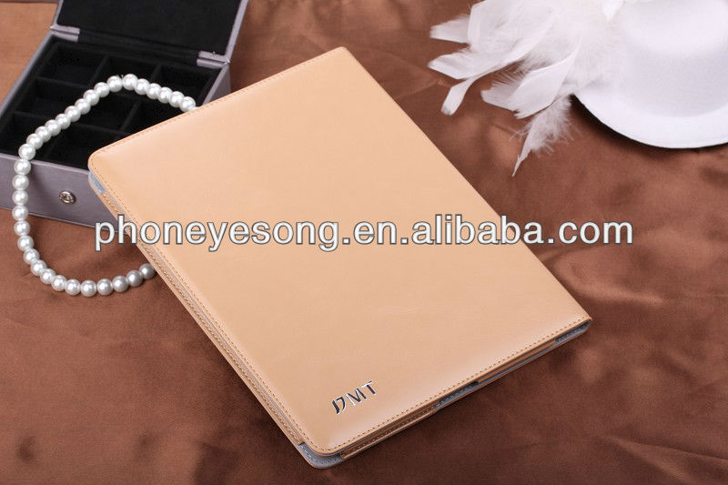 2013 New for IPad Case High Quality with card bag pad case Wholesale