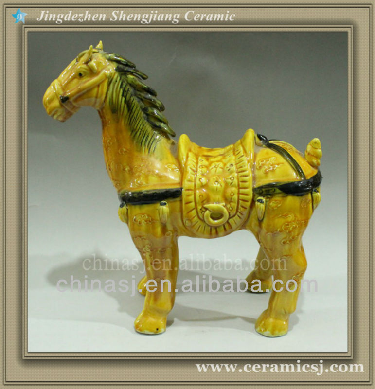 WRYWN01 Hand Made Chinese Antique Horse Statues