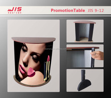 2015 hot sale good quality Popular Advertising Moon shape PP board Exhibition Stand