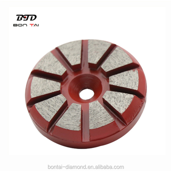 BTD 3 inch Premaster STI efficient diamond tools concrete grinding disc for grinding concrete floor