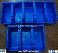 Industrial plastic tote bins from storage boxes