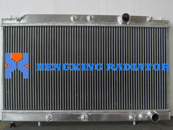 Aluminium Performance Radiator 2 Row Aluminum Alloy Radiator MITSUBISHI ECLIPSE 90-94 MANUAL