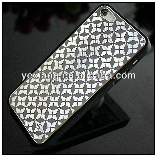 Metal aluminum custom design cell phone case for Iphone5