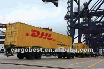 DHL from shanghai shenzhen hongkong to Long beach USA