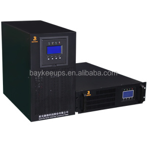 Foshan baykee online flexible 3/1 phase ups with 5 hour backup
