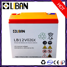 12V 26Ah Cheap E- bike Deep Cycle Lead Acid Battery