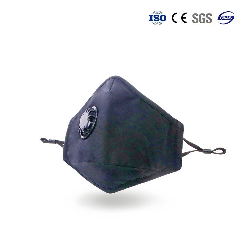 3d activated carbon filter air mask for working out