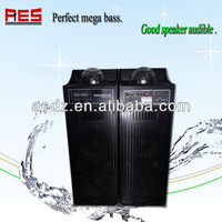 2014 Support Sd Card Pa System Speaker With Light Sd Card Wireless Speaker Hologram projector