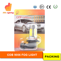 Perfect for Fog/Driving DRL light 9006 5PCS 1.5W COB LED chip Super Bright White Car Auto Lamp Bulb 7.5w led light 12V
