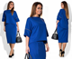 Z90027B New Fashion Design Medium Sleeved Ladies Office Suit Fat Women Dress
