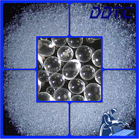 metal cleaning or surface finishing ball shapes recycled glass beads