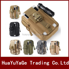 Universal Outdoor Tactical Holster Military Molle Hip Waist Belt Bag Wallet Pouch Purse for Apple iphone 7/7 Plus