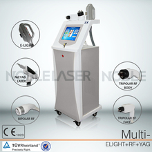 New design E-light+IPL+RF machine tattooing Beauty machine elight/rf/nd yag laser hair/tattoo removal