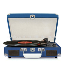 Home Stereo System Vinyl Record Turntable Player with USB Converter