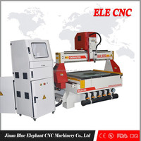 ELE1212 large and professional woodworking cnc router/diy cnc router kits with 3.0kw Italy HSD air cooling spindle