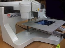 2005 Gravograph IS400TM IS400 Engraving machine