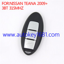 for nisan teana 2009+ 3button 315mhz smart car remote key
