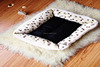 Rectangle Pet Product Home Goods Luxury Pet Dog Bed Wholesale