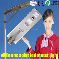 30W 2015 new product waterproof integrated all in one solar outdoor warm led light for Dubai 60w 70w 90w 100w