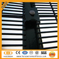 ISO factory galvanized and pvc coated anti climb fence