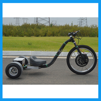 Electric motor drift trike for adults