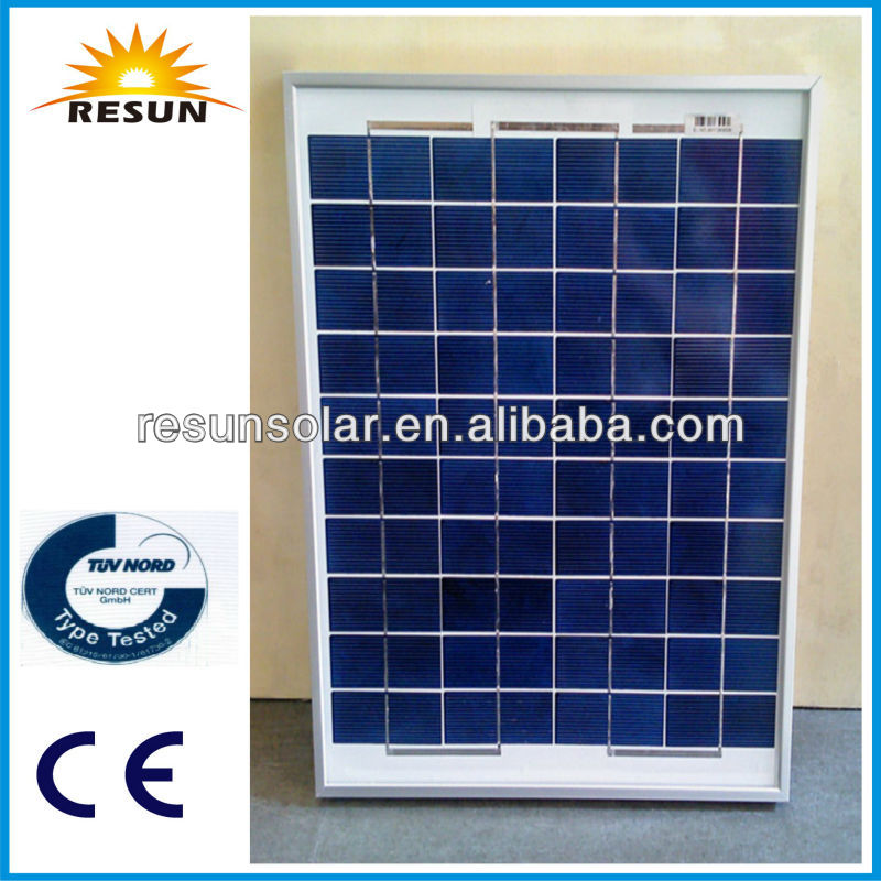 RESUN 20W solar module with TUV CE made in China