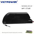 Victpower 13S5P 48V 17Ah 816Wh Lithium ion Battery Pack for Electric Bicycle Motocycle,with 5V USB port