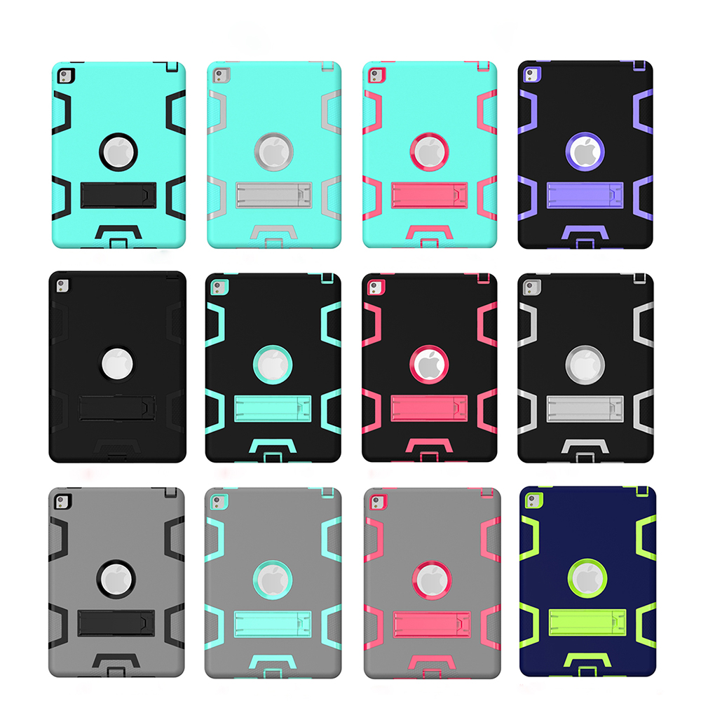 For iPad air 2 Defender Pad Case,Customized Hard PC Tablet Cover