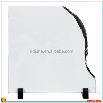 Blank sublimation slate photo Rock Photo Frame