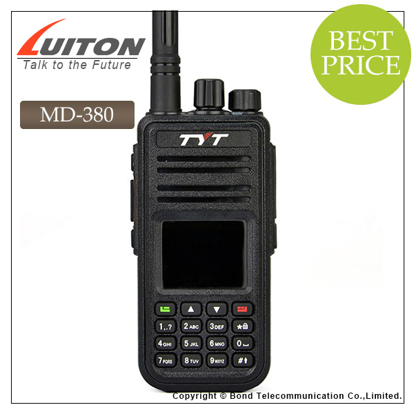 TYT MD-380 UHF/VHF DMR Two Way Ham Radio