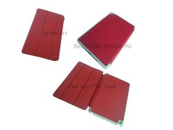 standable tablet pc leather cases for new ipad
