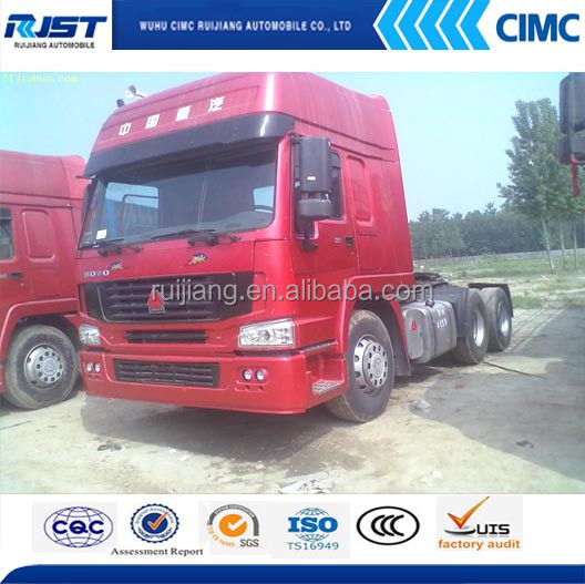 howo 6x4 tractor trailer with competitive price,used tractor for sale