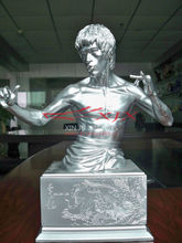 Resin Bust Sculpture Bruce Lee Statue