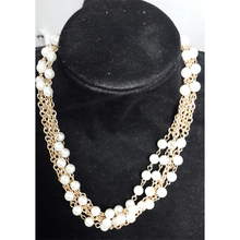 Wholesale 2018 new type multi layer pearl rosary necklace