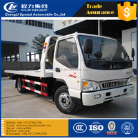 JAC 4tons 5tons 4X2 platform wrecker flatbed repair vehicle roadblocks remove trucks