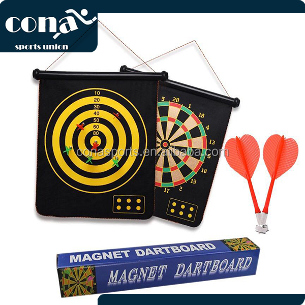 2017 hot selling Interesting safe Magnetic dartboard with 6 darts for children toys