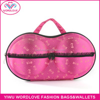 Cheap Wholesale Small MOQ Women Sexy Bra Shaped Bag Bra Case