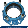 ductile iron pipe fittings--flange adapter and coupling