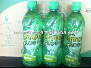 500ML ALOE VERA JUICE APPLE FLAVOUR GREEN BOTTLE